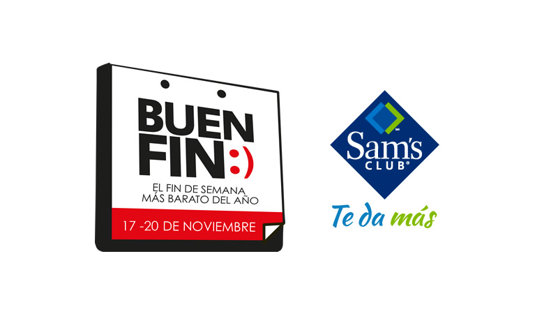 Ofertas de Sams en el Buen Fin 2017 ¡Entérate y aprovéchalas! - sams-buen-fin-2017-800x450