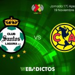 Santos vs América, J17 Apertura 2017 ¡En vivo por internet!