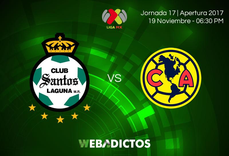 Santos vs América, J17 Apertura 2017 | Resultado: 0-1 - santos-vs-america-jornada-17-apertura-2017-800x547
