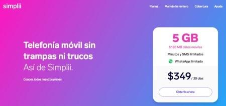 Simplii, nuevo Operador Virtual llega a México de la mano de Movistar