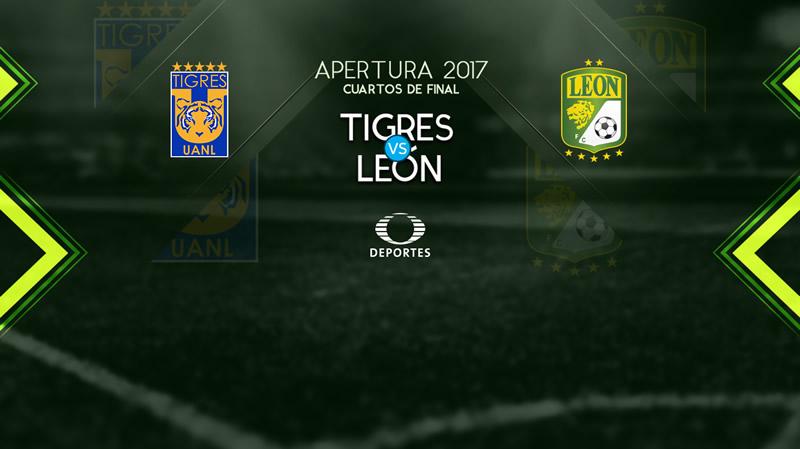 Tigres vs León, Liguilla Apertura 2017 ¡En vivo por internet! | vuelta - tigres-vs-leon-vuelta-liguilla-apertura-2017-800x449