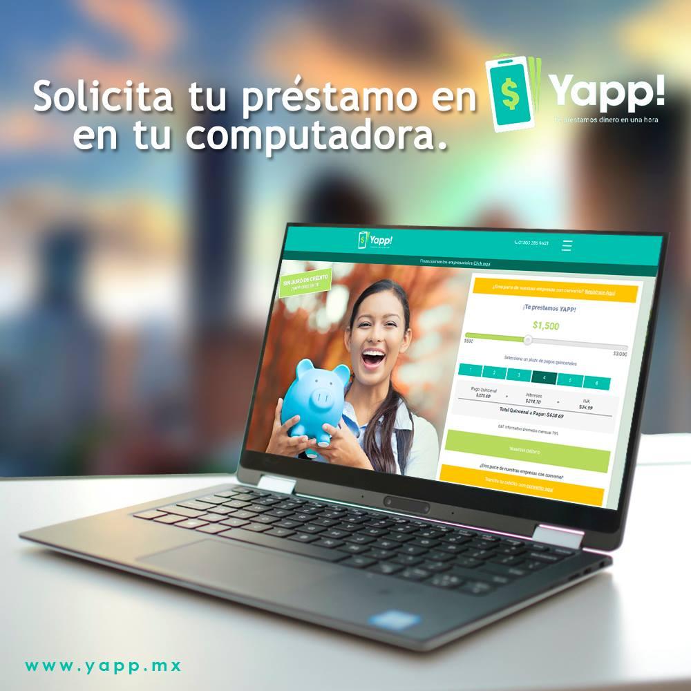 Startup mexicana que te ofrece préstamos online en menos de una hora - yapp