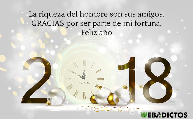 Frases De Año Nuevo 2018 Para Amigos Chistosas Y De Amor