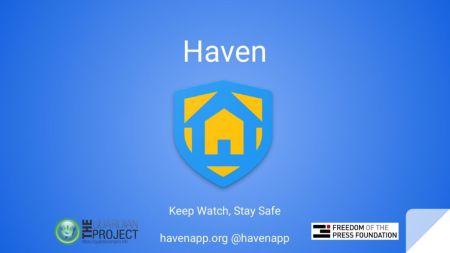 Haven es la app de Edward Snowden que permite detectar intrusos en tus espacios privados.