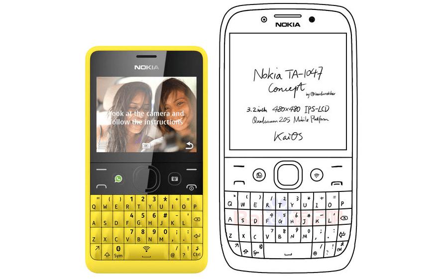 Aparece un nuevo Nokia en la web: podría ser un teléfono QWERTY, de acuerdo a especulaciones - hmd-nokia-with-qwerty-keyboard-concept
