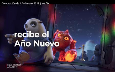 Celebra Año Nuevo con los más pequeños y Netflix cuando quieras