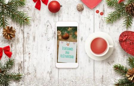 Crear y enviar postales de navidad desde tu celular con estas apps