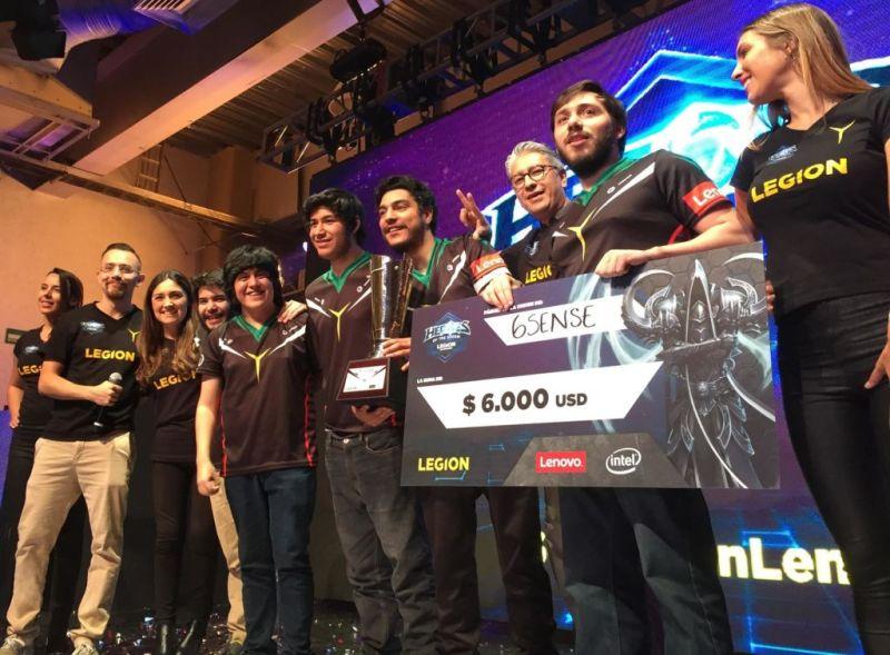 México campeón del Heroes of the Storm Legion Championship - premiacion-6sense-1-800x589