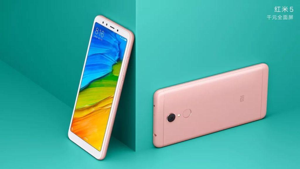Los nuevos Xiaomi Redmi 5 ofrecen diseño todo pantalla sin quebrar tu bolsillo - redmi5-rose