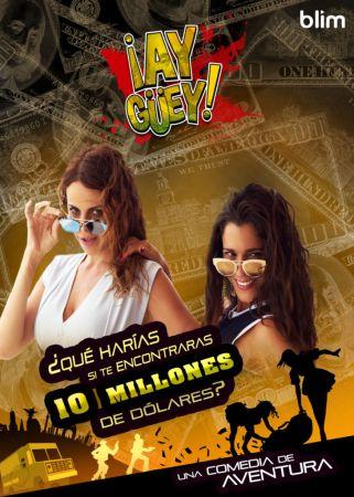 Estreno de la serie ¡Ay Güey! el 24 de diciembre en exclusiva por blim - serie-ay-guey_blim-321x450