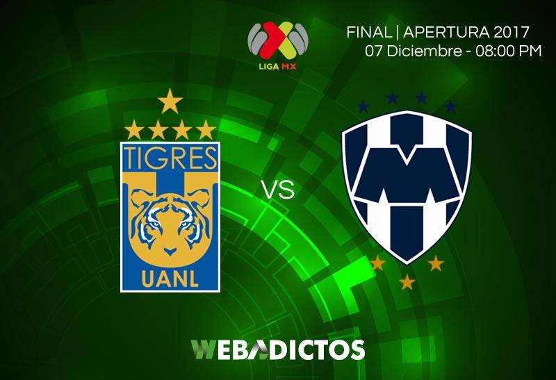tigres vs monterrey final apertura 2017 800x547 Tigres vs Monterrey, Ida de la Final Apertura 2017 | Resultado: 1 1