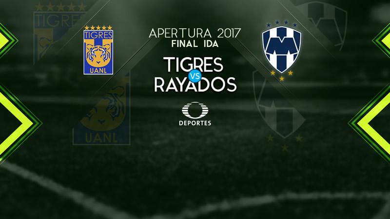 tigres vs rayados final apertura 2017 800x449 Tigres vs Monterrey, Ida de la Final Apertura 2017 | Resultado: 1 1