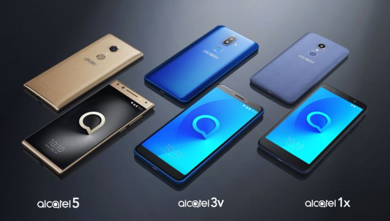 alcatel ces 2018 800x453 CES 2018: Alcatel presenta su línea renovada de smartphones