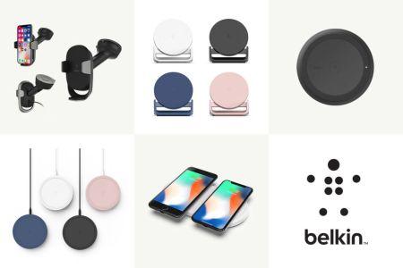 Belkin anuncia su línea de productos de energía móviles para 2018