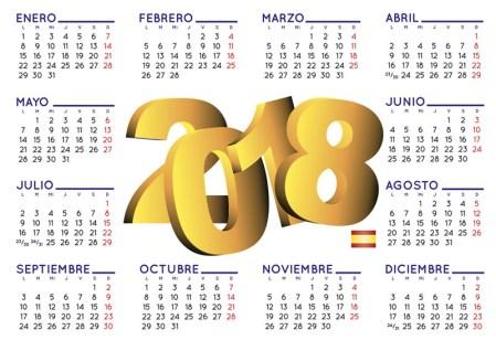 Calendario 2018, crea calendarios para imprimir en línea ¡gratis!