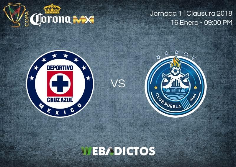 Cruz Azul vs Puebla, J2 de Copa MX Clausura 2018 | Resultado: 1-3 - cruz-azul-vs-puebla-copa-mx-clausura-2018-800x566