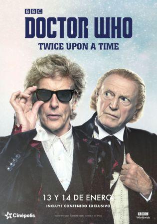 "Cinépolis presentará el especial de Doctor Who ""Twice Upon a Time"""