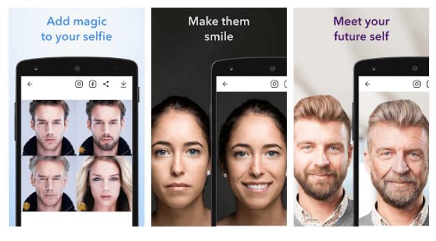 5 apps para empezar este 2018 como se debe - faceapp