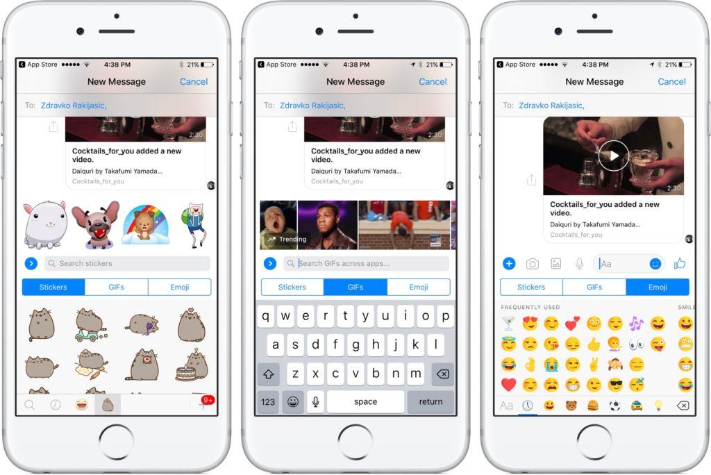 Falla en Facebook Messenger para iOS impide que los usuarios puedan escribir textos largos - facebook-messenger-on-iphone