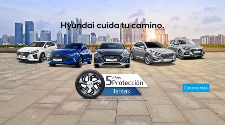 Hyundai México incrementa a 5 años su programa de protección en llantas