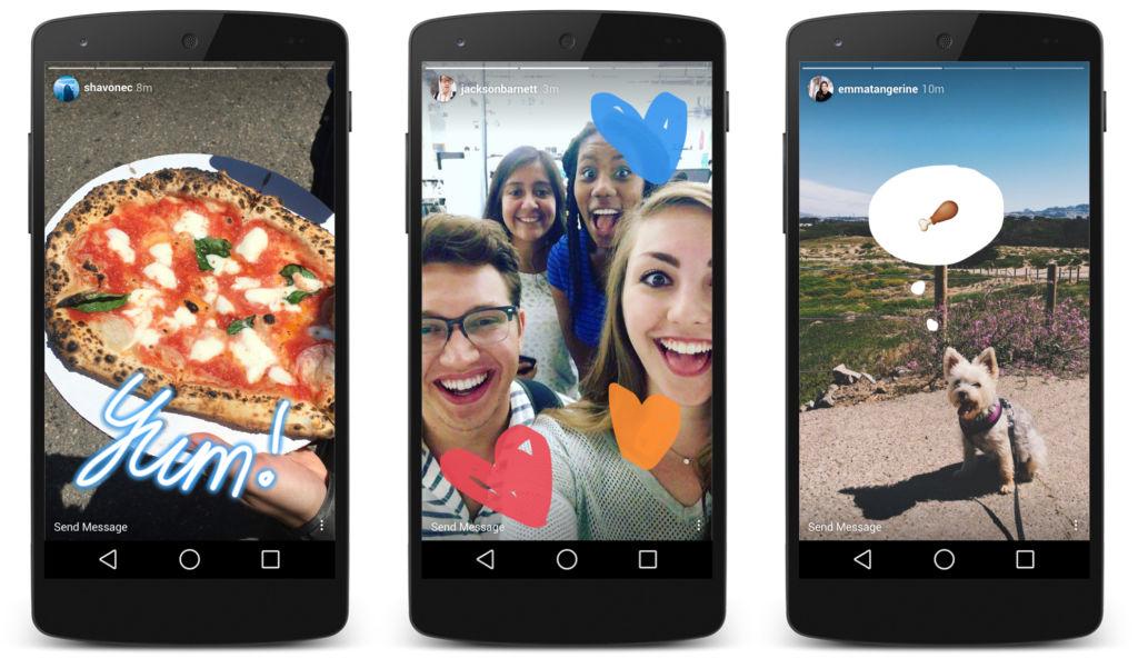 Instagram enriquecerá su función de historias con tres nuevos añadidos - instagram-stories-on-android