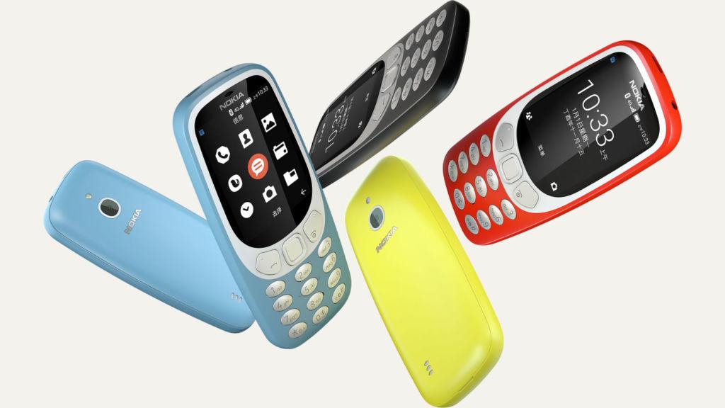 El Nokia 3310 con 4G ya es oficial en China - n3310-colors