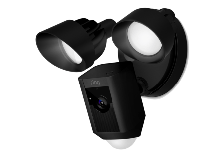 Floodlight Cam de Ring ¡Ya disponible en México! - ring-f-floodlight-cam-black