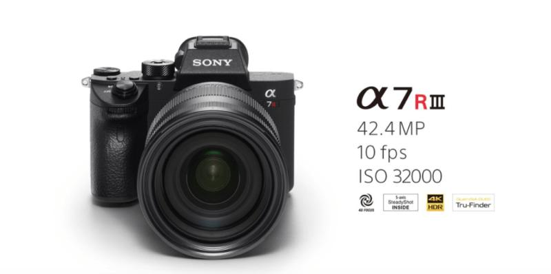 Sony presenta en México cuatro nuevas cámaras profesionales - alpha-7r-iii-camara-sony-800x398