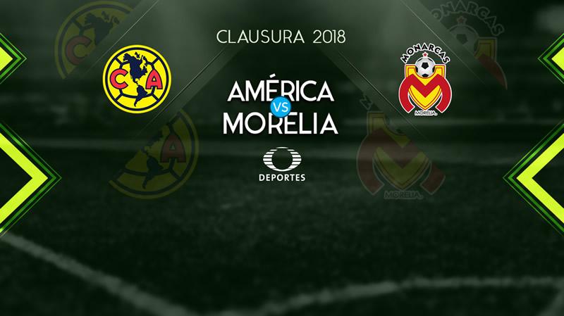 Transmisión de América vs Morelia en internet; J7 Clausura 2018 - america-vs-monarcas-clausura-2018-j7