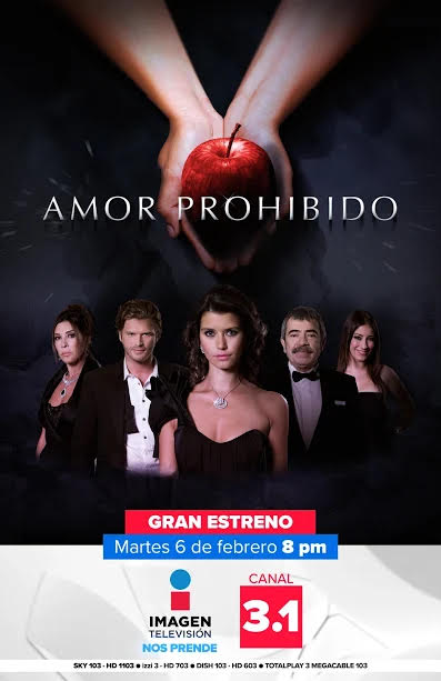 Imagen Televisión estrena nueva serie: Amor Prohibido - amor-prohibido-imagen-television