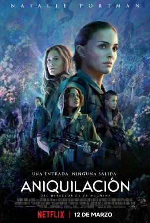 Netflix revela fecha de lanzamiento de Aniquilación, película protagonizada por Natalie Portman