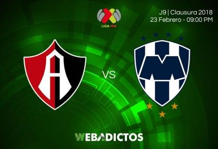 Transmisión de Atlas vs Monterrey el 23 de febrero ¡En vivo por internet!
