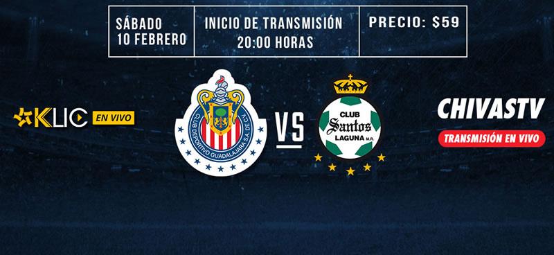 chivas vs santos chivas tv j6 clausura 2018 Cómo ver a Chivas vs Santos en la Jornada 6 del Clausura 2018