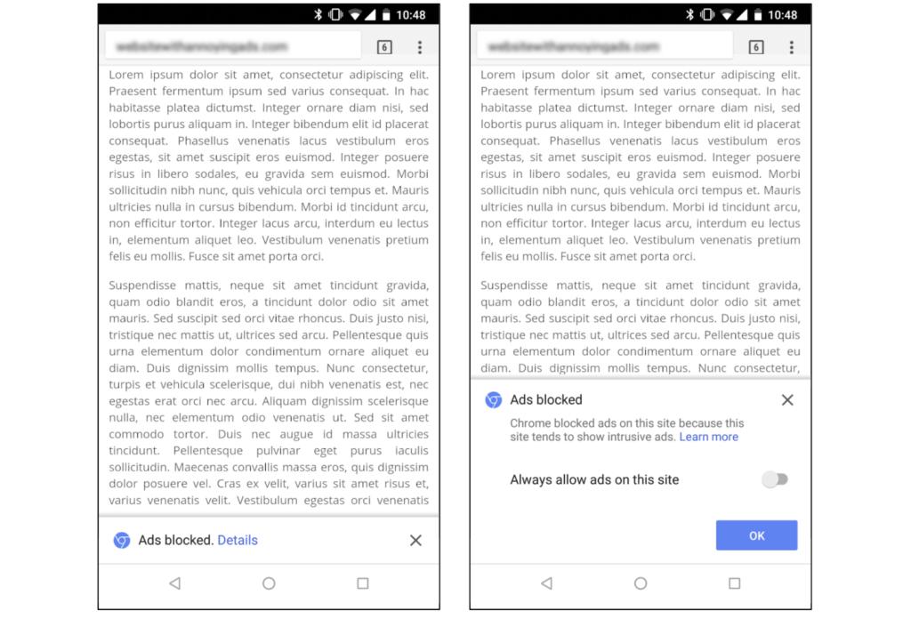 Google Chrome recibirá su bloqueador de anuncios el día de mañana, conoce cómo funciona - chrme-ad-blckr