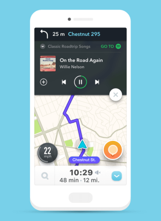 Configuraciones de Waze que no sabias y te harán la vida más fácil - conectar-spotify-327x450