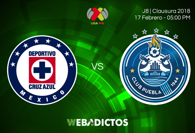 Cruz Azul vs Puebla en la J8 del Clausura 2018 ¡En vivo por internet! - cruz-azul-vs-puebla-clausura-2018-j8