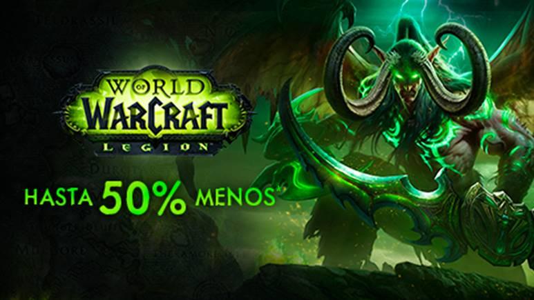 ¡El descuento del 50% en World of Warcraft termina este fin de semana! - escuento-en-world-of-warcraft