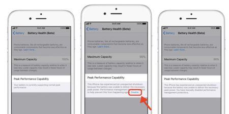Este es el nuevo monitor de energía en los iPhone, que llega con la segunda beta de iOS 11.3