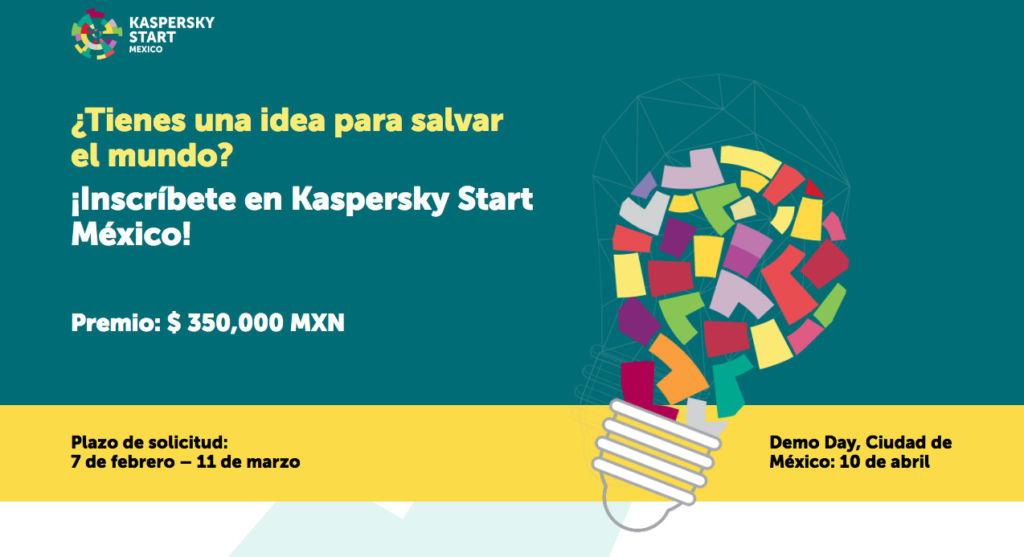 kaspersky start mexico Convocatoria para participar en el concurso Kaspersky Start México