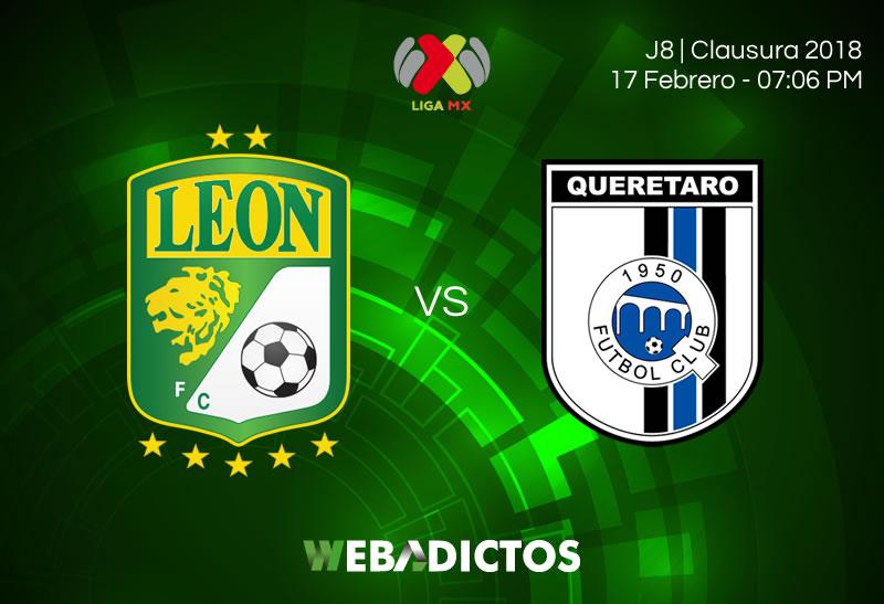 Transmisión de León vs Querétaro por internet; Jornada 8 Clausura 2018 - leon-vs-queretaro-clausura-2018-j8