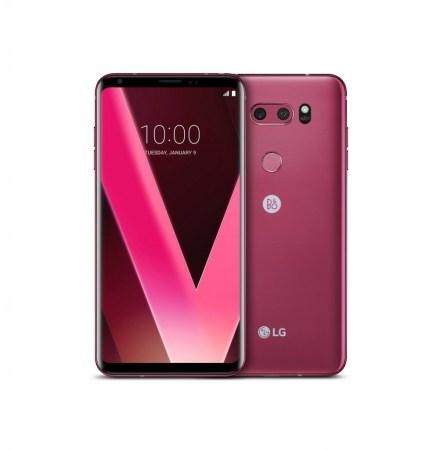 El LG V30 Raspberry Rose todo un éxito en Corea