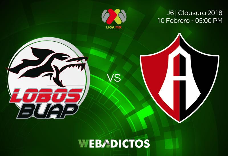 Lobos BUAP vs Atlas, Jornada 6 Clausura 2018 | Resultado: 3-1 - lobos-buap-vs-atlas-clausura-2018-j6