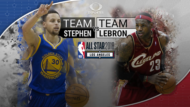 Juego de Estrellas NBA All Star 2018 ¡En vivo por internet! - nba-all-star-2018-internet