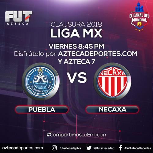 Partido Puebla vs Necaxa este 23 de febrero ¡En vivo por internet! - puebla-vs-necaxa-azteca-deportes-23-febrero