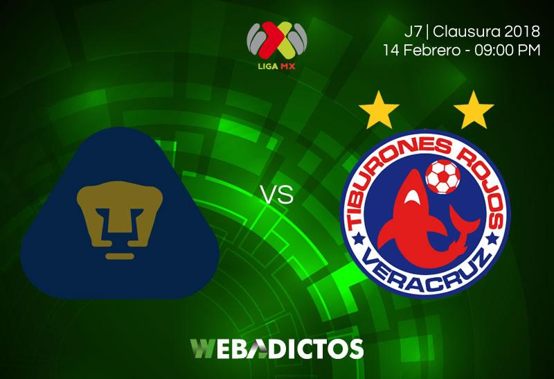 pumas vs veracruz clausura 2018 j7 En dónde ver a Pumas vs Veracruz en la Jornada 7 del Clausura 2018