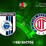 Partido Querétaro vs Toluca, J9 Clausura 2018 ¡En vivo por internet!
