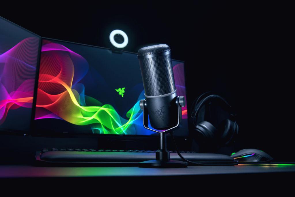 Razer Seiren Elite, nuevo micrófono profesional para streaming - razer-seiren-elite