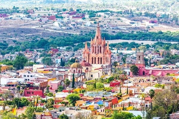 Los destinos más románticos de México - san-miguel-de-allende-guanajuato-mexico