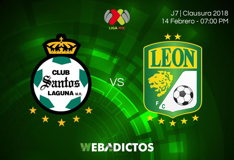 Santos vs León, Jornada 7 de Liga MX C2018 | Resultado: 5-1 - santos-vs-leon-clausura-2018-j7