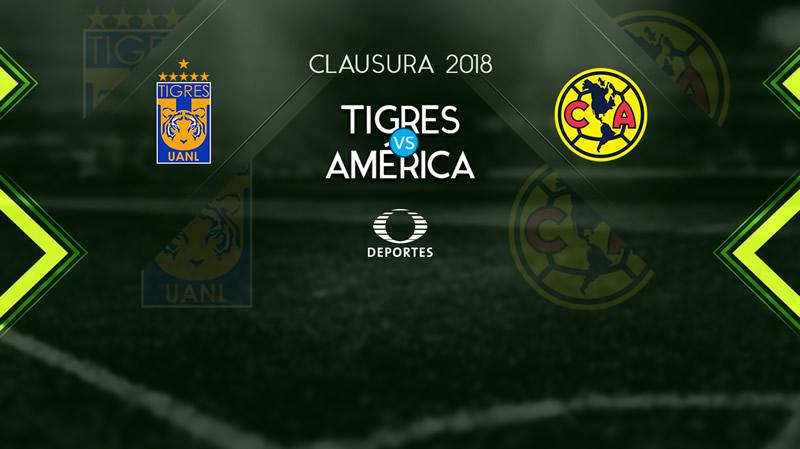 Tigres vs América: Horario y transmisión; J6 Clausura 2018 - tigres-vs-america-j6-clausura-2018-internet